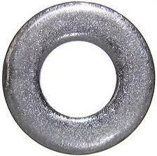 black cut washers zinc