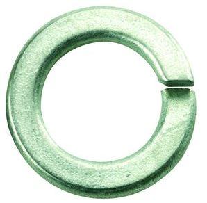 flat medium spring washer 127 b zinc