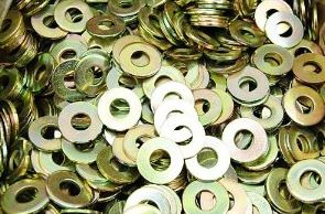 special washers zinc yellow