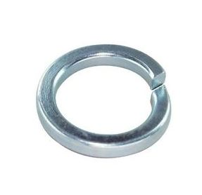 square heavy spring washer zinc