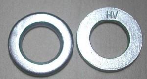 through hardened H.D.G washers